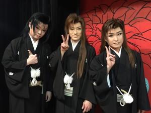 新川劇団様「博也芸道20周年 笑也座長襲名3周年記念公演」オフショットの写真その3