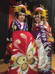 新川劇団様「博也芸道20周年 笑也座長襲名3周年記念公演」オフショットの写真その2